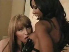 The two trannies are hot as hell and they're joined in the hotel room by a guy interested in...