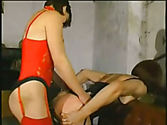Slutty Tranny ass dildoed by dominant women. Vintage maybe, depends probably on how old you ...
