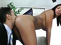 Shemale Goddess Jane Marie gets some Hard Cock Lovin