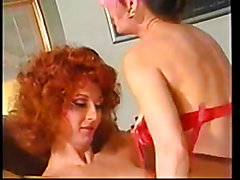 Two vintage tranny scenes combines into one