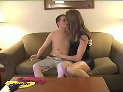 This pure amateur video stars a young guy and a leggy, glamorous shemale. They blow each oth...