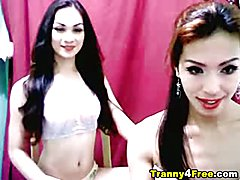 Great amateur tranny anal cam sex. Watch as this tranny babe suck her partners cock before s...