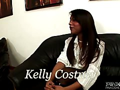 Kelly Costner is a sexy black shemale beauty with the fuck skills of a person with real pass...