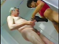 Asian Tv Mistress and old slaveslut