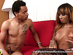 Honey Foxx has a magnificent body, big sexy tits, a great ass and a delicious big cock! Watc...