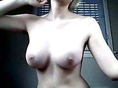Teasing TGirl big perfect tits!