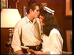 Vintage Ms J Fox as the maid fucks her boss