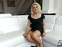 Isabella Sorrenti is a blonde bombshell TS that is brand new to the industry. Watch me inte...