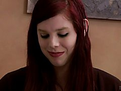 Young TS babysitter Chelsea Poe notices how deprived he is, she decides to use her seductive...