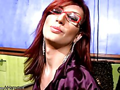 This lusty redheaded shemale could definitely bring some joy to your life. Joy Spears is a t...