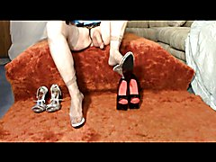 Pussyboy is enrolled in Madam's Shoe and Stocking Sissy School, learns to dress like a slu...