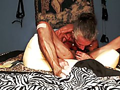 Deep throating and a messy one at that and while doing a 69 my clit was being sucked and my ...