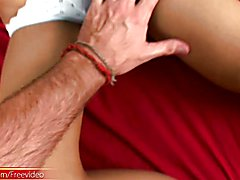 Asian tranny gets her girl rod jerked and mouth full of dick