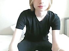 Gorgeous femboy`s cam show