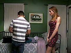 Savannah Thorne visits her new step-son in his bedroom, because she knows if her son caught ...