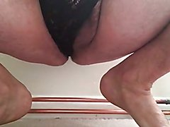 Wank and cumming in panties