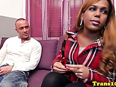 Black big booty amateur tranny riding cock for cash