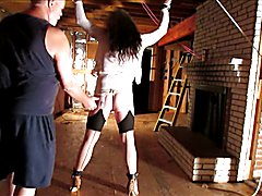 3 short movies in one that include my ass being flogged and my nipples being clamped while t...