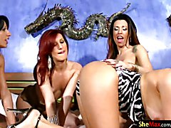 When it comes to having one incredibly hot shemale orgy, you will not find sexier t-girls to...