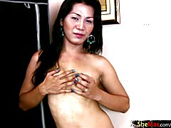 Having a big dick herself cute Ahya likes guys with huge long shafts. She shows up to the ro...