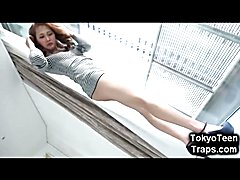 OMG How not to fell in love with a young japanese tgirl like Beni Sisaki? She is maybe the m...