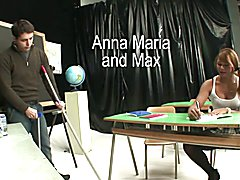Tranny Art School girl tranny is ass fucked by her tutor  - clip # 02