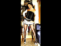 I'm a very bad schoolgirl and i need to be punished, my black teacher order me to make some ...