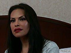 Alexander Gustavo enjoys hardcore anal fuck with Ts Foxxy