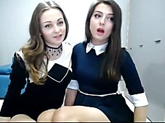 Cute tranny and woman suck and fuck on cam