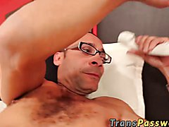 Valentina Perez and Ramon tranny pounding and ass fucking. With that infamous MonsterCock, h...