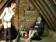Join me and katie fox in the attic for a fun sex based chat show!