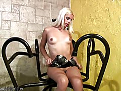 Thays enjoys to cover her body in fluids and get wet and messy before she snaps her monsterc...