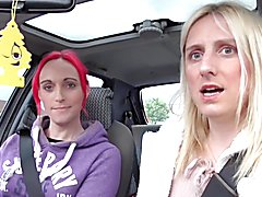 Katie and Lucie go shopping for an alternative sex toy in their shemale weekly chat show. L...