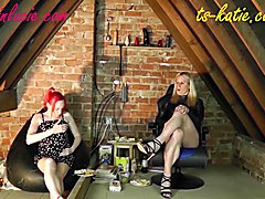 Katie Fox and Lucie Sparkle host a light hearted chat show covering various topics. This we...
