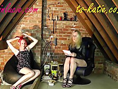 Katie Fox and Lucie Sparkle take more adult related questions in their light hearted chat show.