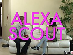 Alexa Scout admits she was biologically born male and now she's a woman