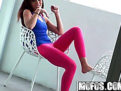 Mofos - Lets Try Anal - Emily Benjamins - Cant You Work Out At Home