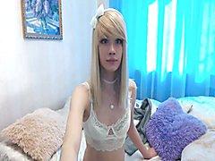 Cute uncircumcised blonde teen