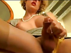Pure cumshots from hard cocks - tranny, men.