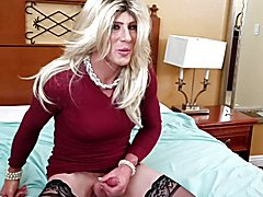 the milf cd encourages you to come suck a big black cock with her. lots of dirty talk and ve...