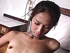 Nice petite ladyboy with a lovely cock