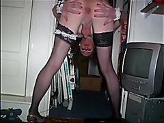 jade doing what every sissy slut loves sucking cock and being fucked