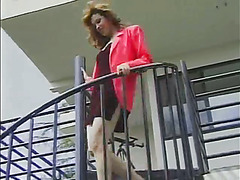 Charlotte b4 her boobjob in a early 90's vid