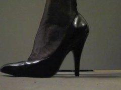 Transvestite Rachel Stockings and High Heels