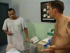 Shemale Nurse Olivia in hot 3 Way