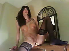 My favorite video so far. Cumming hands free while riding my dildo and smoking a cigarette. ...