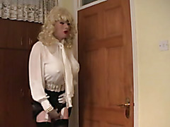 White Chiffon Sissy Blouse