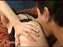 Amanda Jade and Gabriel Dalesandro do some hardcore transsexual fucking and sucking!