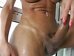 best hermaphrodite - huge cock big tits