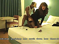 A short interracial video of a recent adventure. Description of what happened later on the s...